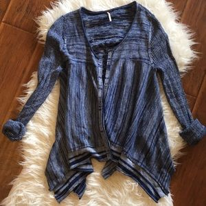 Free People Swing Cardigan
